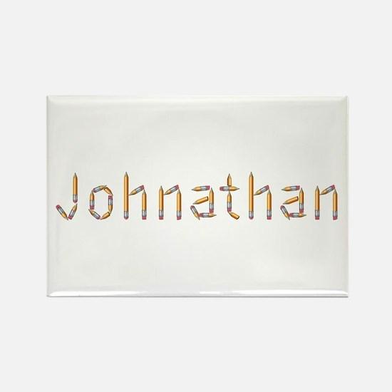 Johnathan Pencils Rectangle Magnet