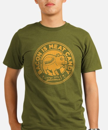bacon is meat candy4a T-Shirt