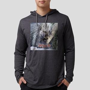 Porcupine_Orn Mens Hooded Shirt