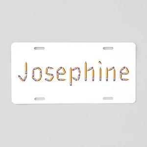 Josephine Pencils Aluminum License Plate