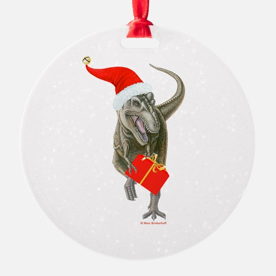 Santasaurus ~ Ornament