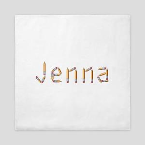 Jenna Pencils Queen Duvet