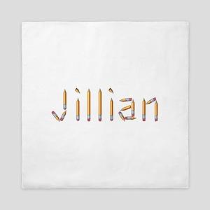 Jillian Pencils Queen Duvet