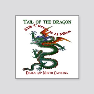 Tail Of The Dragon Sticker