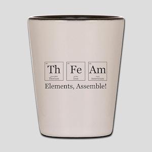 Elements, Assemble! Shot Glass