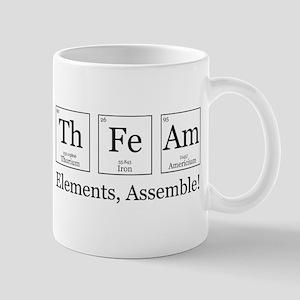 Elements, Assemble! Mug