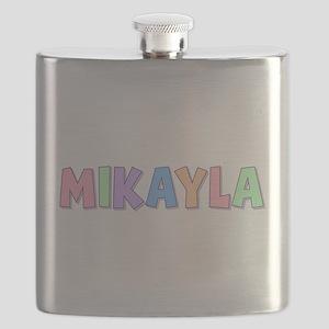Mikayla Rainbow Pastel Flask