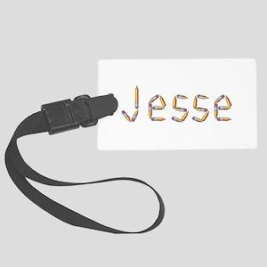 Jesse Pencils Large Luggage Tag