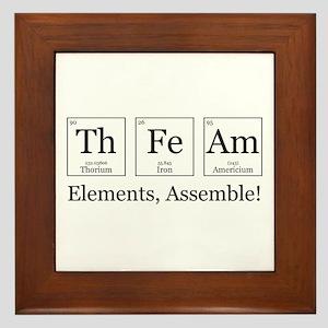 Elements, Assemble! Framed Tile