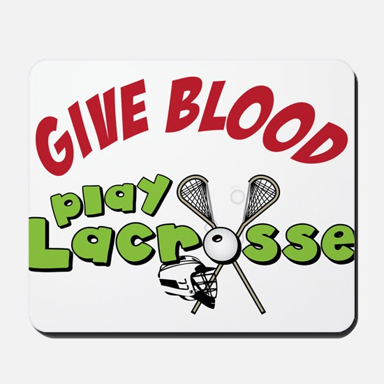Play Lacrosse Mousepad