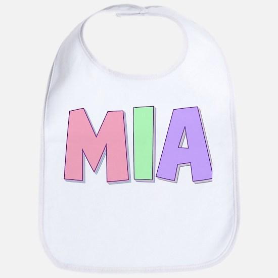 Mia Rainbow Pastel Bib