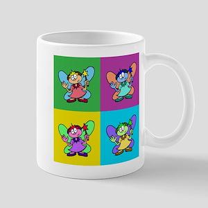 Flutterby Pop Art Square Mug