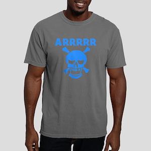 Arrrrr Pirate Skull Mens Comfort Colors Shirt