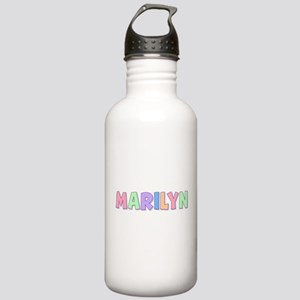 Marilyn Rainbow Pastel Stainless Water Bottle 1.0L