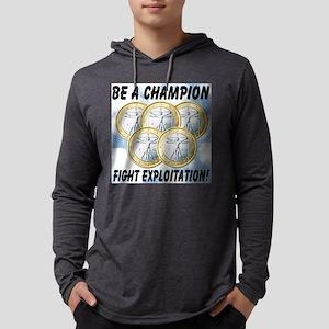 be_a_champion_fight_exploitation Mens Hooded Shirt