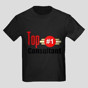 Top Consultant Kids Dark T-Shirt