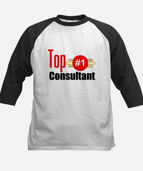 Top Consultant Kids Baseball Jersey