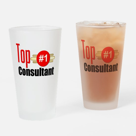 Top Consultant Drinking Glass
