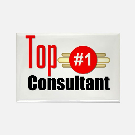 Top Consultant Rectangle Magnet