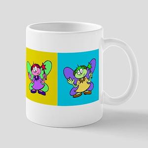 Flutterby Pop Art Strip Mug