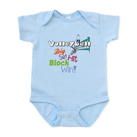 Dig Set Hit Infant Bodysuit
