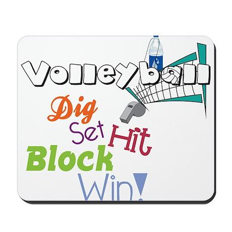 Dig Set Hit Mousepad