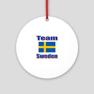 Team Sweden Ornament (Round)