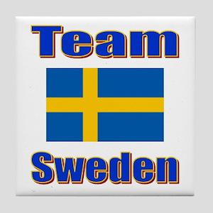 Team Sweden Tile Coaster