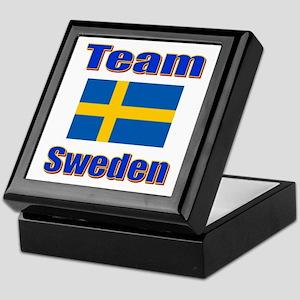 Team Sweden Keepsake Box