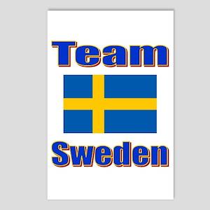 Team Sweden Postcards (Package of 8)