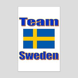 Team Sweden Mini Poster Print