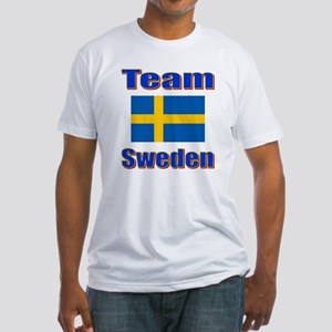 Team Sweden Fitted T-Shirt