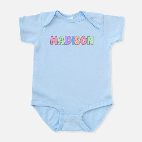Madison Rainbow Pastel Infant Bodysuit