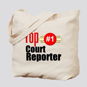 Top Court Reporter Tote Bag