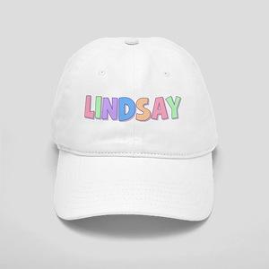 Lindsay Rainbow Pastel Cap