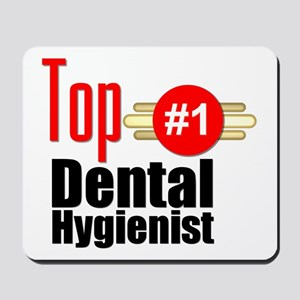 Top Dental Hygienist Mousepad