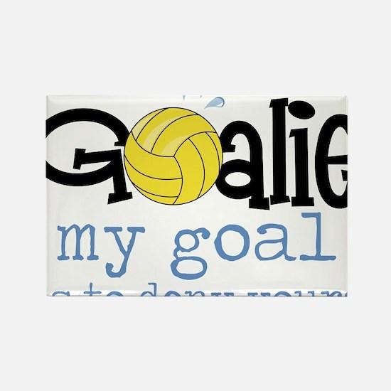 My Goal Rectangle Magnet