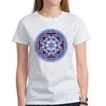 Women's T-Shirt Saturn Yantra Large