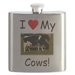 Love My Cows Flask
