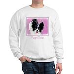Papillon (White and Black) Sweatshirt