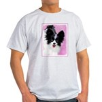 Papillon (White and Black) Light T-Shirt