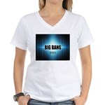 Big Bang Theory Women's V-Neck T-Shirt