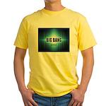 Big Bang Theory Yellow T-Shirt