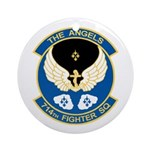 Angels Emblem Ornament (Round)