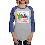 GAY GOOSE.jpg Womens Baseball Tee