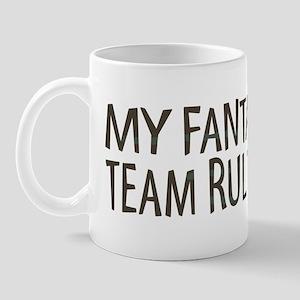 Fantasy Football Rules Mug