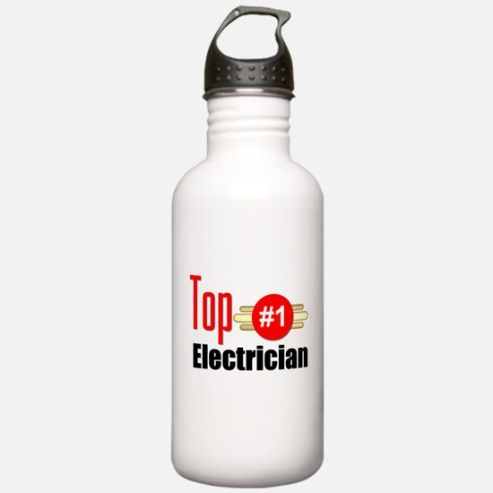 Top Electrician Water Bottle