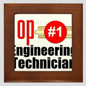 Top Engineering Technician Framed Tile
