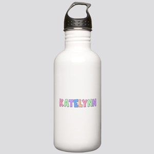 Katelynn Rainbow Pastel Stainless Water Bottle 1.0