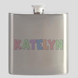 Katelyn Rainbow Pastel Flask